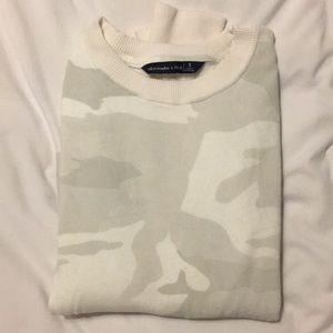 Gray camo sweatshirt